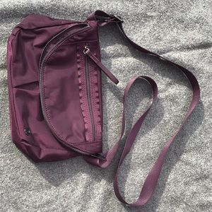 Lululemon All Night Festival Bag Black Cherry
